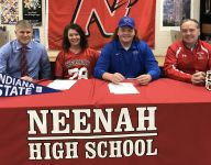Four Papermakers football players sign with colleges