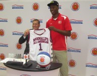 Brandon McCoy credits mom after receiving McDonald's All American jersey