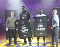Oak Hill stars Preston and Coleman honored at Jordan Brand Classic Senior Night