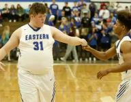 VIDEO: Ky. team manager with special needs starts on senior night, scores first basket