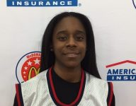 Chasity Patterson completes another goal with McDonald's All American selection