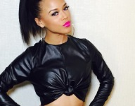 Chop-Up: Empire star Serayah McNeil sits on the random/hot seat