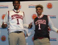La Lumiere teammates Brian Bowen, Jaren Jackson receive McDonald's All American jerseys