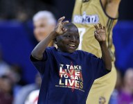 14-year-old Jarrius Robinson stealing show, melting hearts at NBA All-Star Weekend