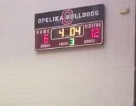 Alabama boys basketball game finishes 16-8, was tied 6-6 at halftime