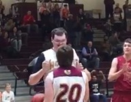 Autistic team manager in Texas gets his magic moment on Senior Night