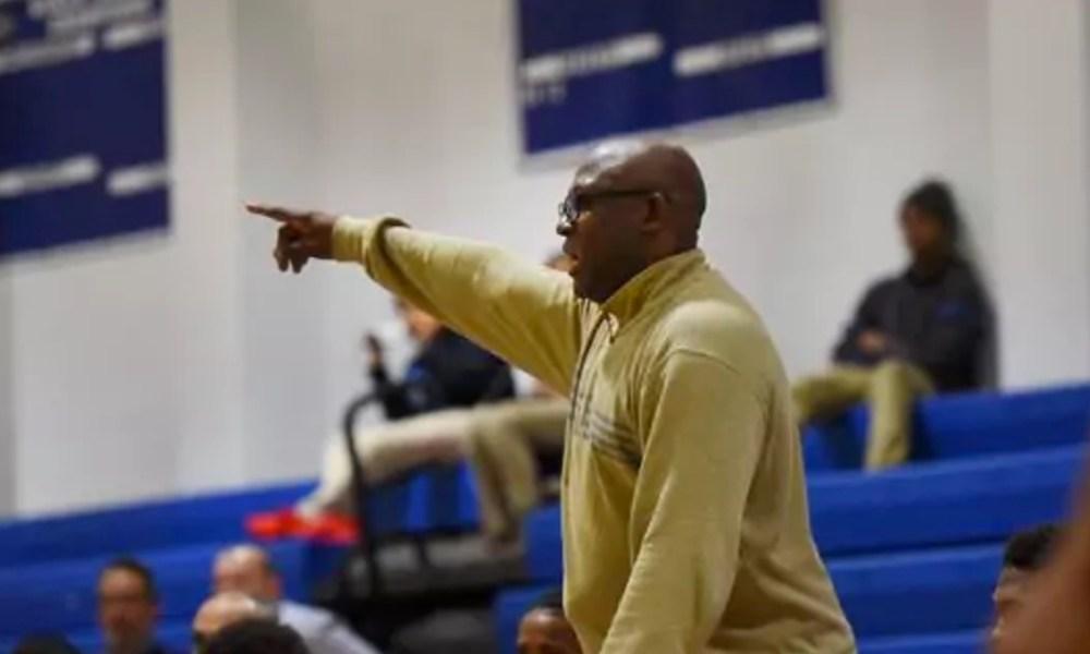 Paterson Eastside coach Juan Griles (Photo: Mitsu Yasukawa/Bergen Record)