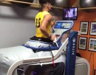 VIDEO: Ohio State WR signee Trevon Grimes is back running on a treadmill