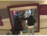 VIDEO: Surveillance shows suspects in theft of Kobe Bryant memorabilia from Pa. high school