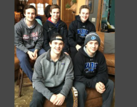 VIDEO: Family affair for five brothers who all play for same Minnesota hockey team