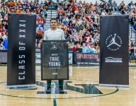 Oklahoma commit Trae Young honored at Jordan Brand Classic Senior Night