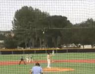 VIDEO: California baseball team pulls off 8-6-3 triple play