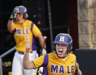 Male ranked third in softball coaches poll