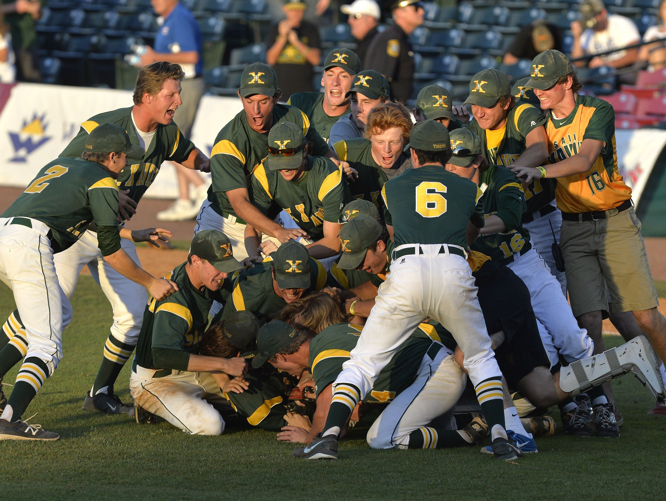 St. X baseball team ranked No. 1 in state