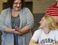 6-time all-state swimmer wants state gold, inks with Indy