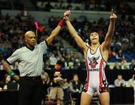Young stars light up the night at state wrestling