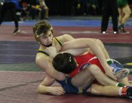 Area wrestlers win matches at individual state finals