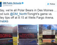 Des Moines schools rally behind North ahead of state basketball tournament