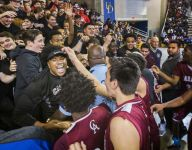Parker's free throw punches Caravel's championship game ticket