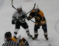 Forest Hills makes most of power play, tops Saline in Div. 2 hockey semis