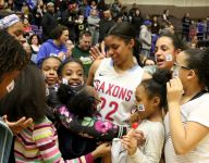 Evina Westbrook's high school career concludes with amazing run
