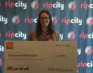Stephens Middle School, North Salem High School receive grants from Trail Blazers