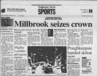 Millbrook's 1999 state champs share Lourdes link