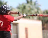 Conquerors score big early in softball win