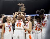 Class A girls basketball: Unranked Flushing wins first state title