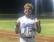 Safford pitcher Gabe Ornelas throws 2nd straight no-hitter