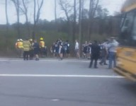 Six South Carolina soccer players receive medical treatment after being burned by a failed school bus radiator