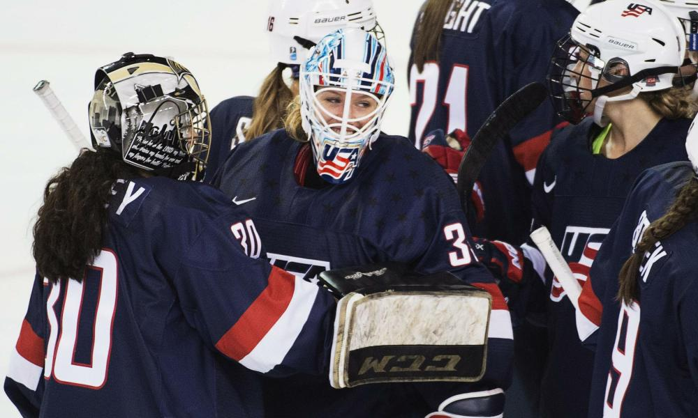 U.S. national hockey team goaltender Alex Rigsby (Photo: Associated Press)