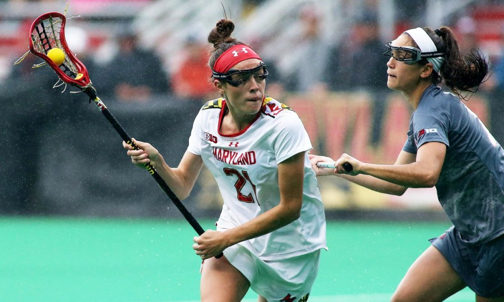 Maryland women's lacrosse player Taylor Cummings (Photo: Twitter screen shot)