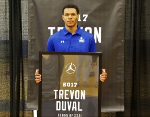 Top point guard Trevon Duval is thankful for the honor to play in the Jordan Brand Classic