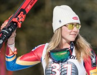 Girls Sports Month: Mikaela Shiffrin on being the best skier in the world and fans inspiring her