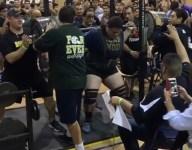 VIDEO: Texas lineman Joseph Pena squats jaw-dropping 1,005 pounds