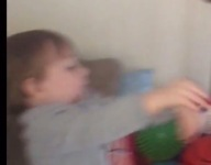 VIDEO: This 25-month-old can get buckets in all kinds of ways