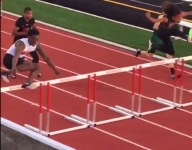 VIDEO: Quentavious Neal of Mt. Zion (Ga.) has the world's strangest successful hurdling style