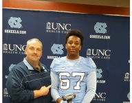 Four-star OL Avery Jones picks in-state UNC ahead of other ACC powers