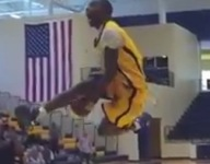 VIDEO: Isaiah Miller won dunk contest at Under Classman All-American Game, and here's why