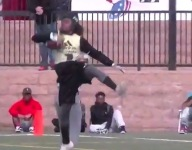 VIDEO: IMG Academy's Bookie Radley-Hiles makes incredible catch during Passing Down event
