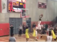VIDEO: 7-footer Bol Bol skies for thunderous dunk