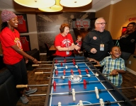 McDonald's All Americans really enjoyed their time at the Ronald McDonald House