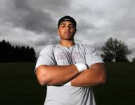 Future Hawkeye OL Tristan Wirfs has left his mark in the Iowa state athletic record books