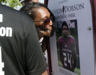 Playground dedicated to Zaevion Dobson, the teen who was killed shielding classmates from gunfire