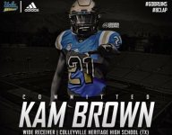 Kam Brown, son of Cowboys legend Larry Brown, commits to UCLA