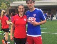 The FC Dallas U-15 Academy team beat the U.S. Women' s National Team, 5-2
