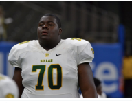 New viral star Kardell Thomas thinks his relay sprint will help convince LSU coaches to let him carry the ball