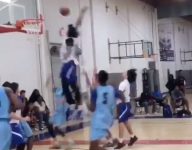 VIDEO: LaMelo Ball's layup got rejected to kingdom come