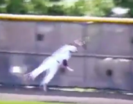 VIDEO: Phillipsburg (N.J.) star Sean Morro may have grabbed catch of the year in season's first game